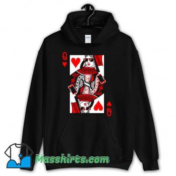 Queen Of Hearts Valentine Hoodie Streetwear