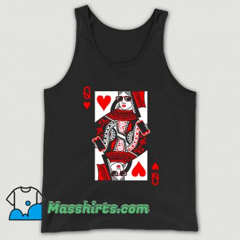 Queen Of Hearts Valentine Day Tank Top
