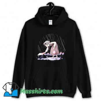 Rainy Day Cat Hoodie Streetwear