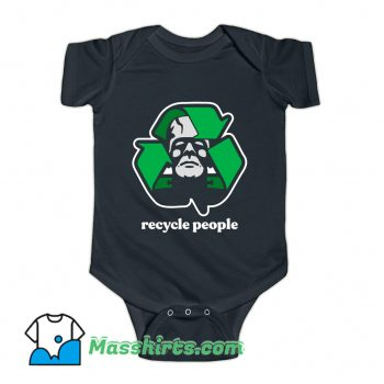 Recycle People Horror Movies Baby Onesie