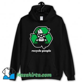 Recycle People Hoodie Streetwear