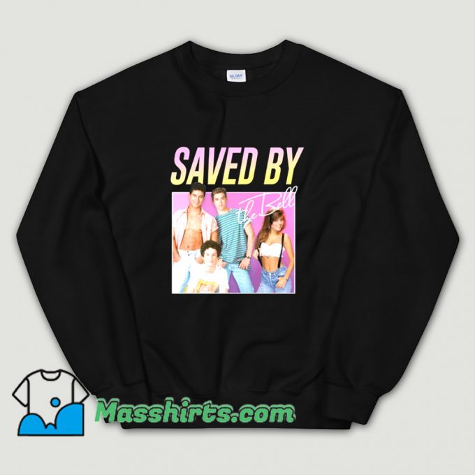 Awesome Saved By The Bell 90s TV Sweatshirt