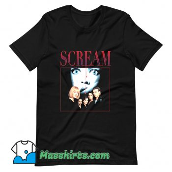 Cool Scream 90s Horror Movie T Shirt Design
