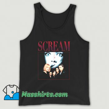 Scream 90s Horror Movie Tank Top