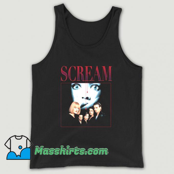 Scream 90s Horror Movie Tank Top