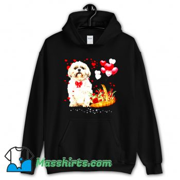 Shih Tzu Valentines Day Hoodie Streetwear