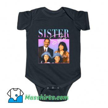 Sister 90s TV Baby Onesie