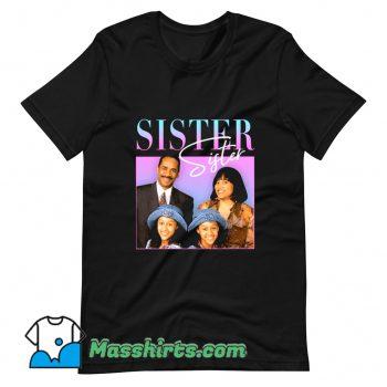 Classic Sister 90s TV T Shirt Design