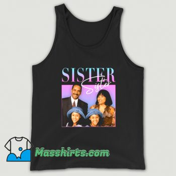 Official Sister 90s TV Tank Top