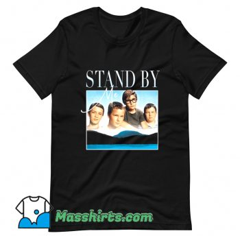 Vintage Stand By Me 80s Movie T Shirt Design