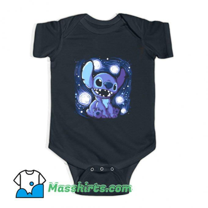 Starry Stitch Baby Onesie