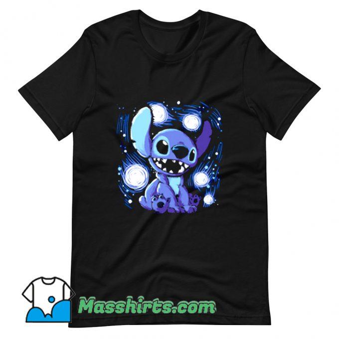 Funny Starry Stitch T Shirt Design
