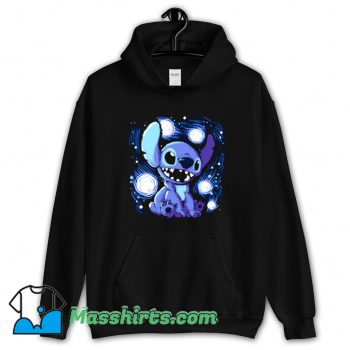 Cute Cartoon Starry Stitch Hoodie Streetwear