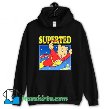 SuperTed Retro 80s Cartoon Hoodie Streetwear