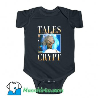 Tales From The Crypt 90s TV Baby Onesie