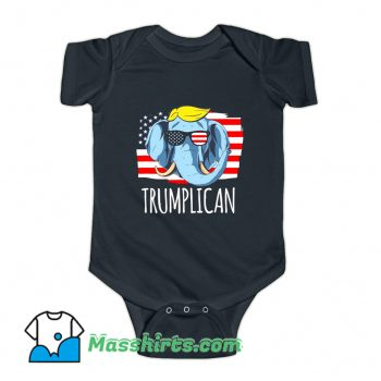 Trumplican Donald Trump 2020 Baby Onesie