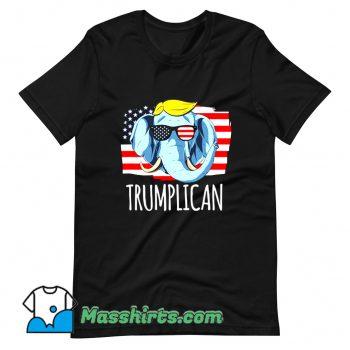 Official Trumplican Donald Trump Graphic T Shirt Design