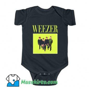 Weezer 90s Rock Band Baby Onesie