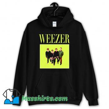 Classic Weezer 90s Rock Band Hoodie Streetwear