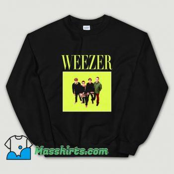 Weezer 90s Rock Band Sweatshirt