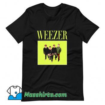 Weezer 90s Rock Band T Shirt Design