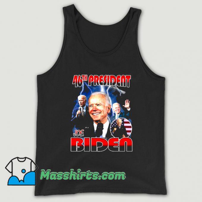 Awesome Joe Biden 46th President Tank Top