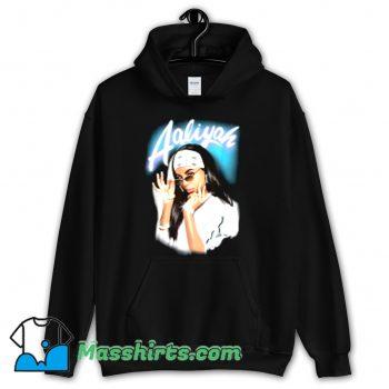 Aaliyah Airbrush Bandana Photo Hoodie Streetwear