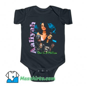 Aaliyah One In A Milion Baby Onesie