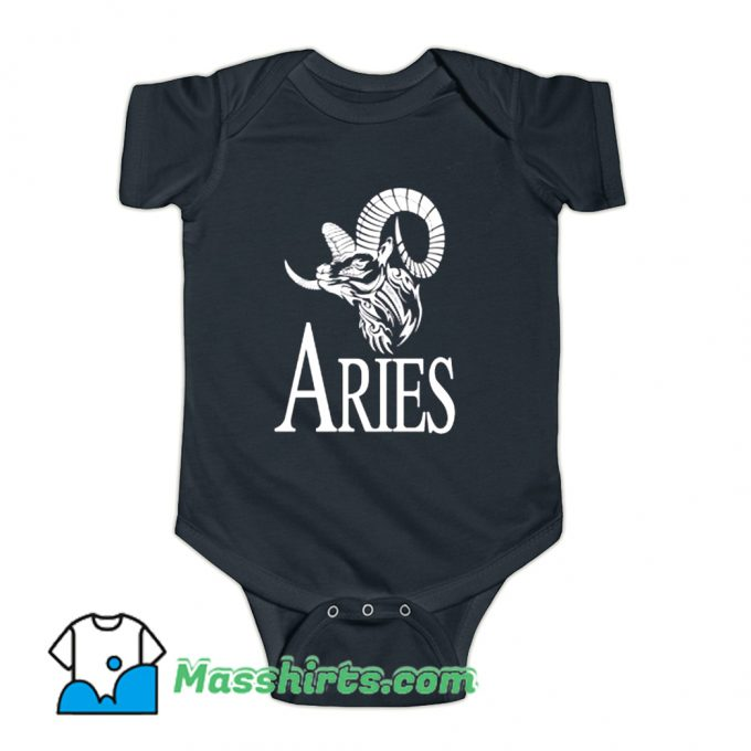 Awesome Aries Horoscope Baby Onesie