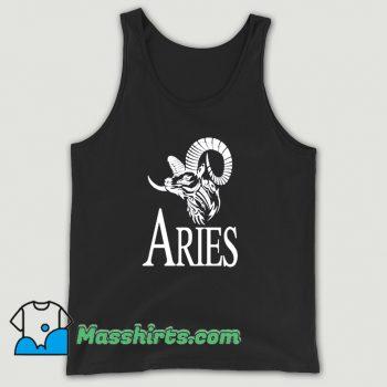 Cute Aries Horoscope Tank Top