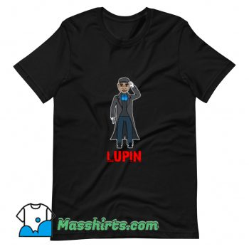 Cool Assane Diop Lupin Movies T Shirt Design