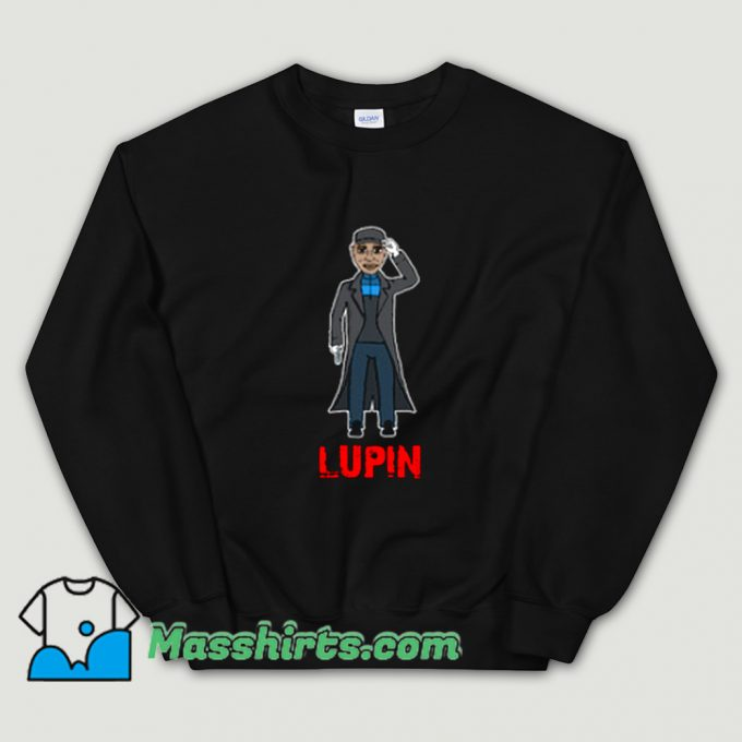 Assane Diop Lupin Movies Sweatshirt