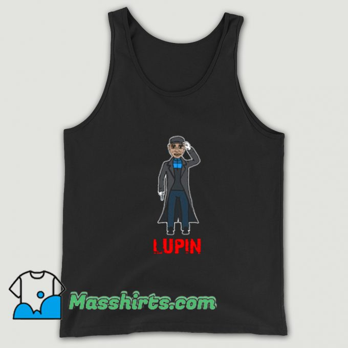 Funny Assane Diop Lupin Movies Tank Top