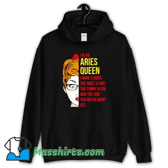Astrology Aries Queen Hoodie Streetwear