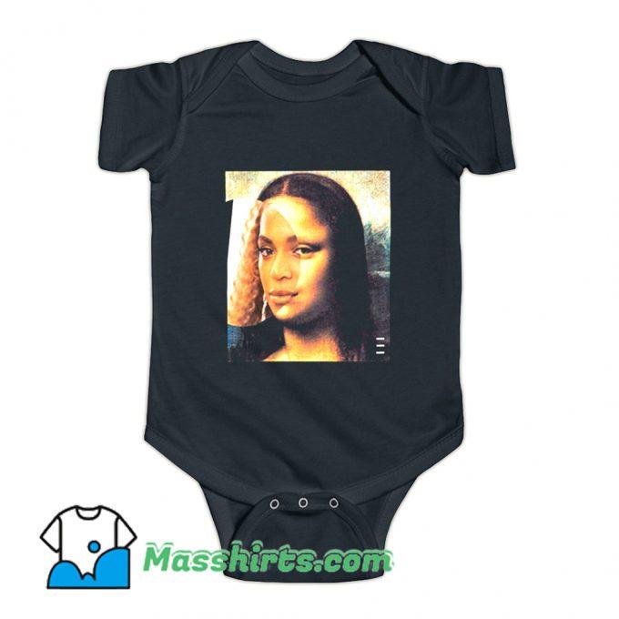 Beyonce Face Girls Baby Onesie