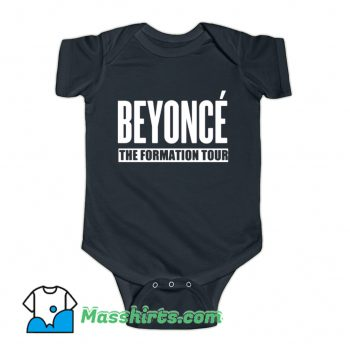 Beyonce The Formation World Tour Baby Onesie