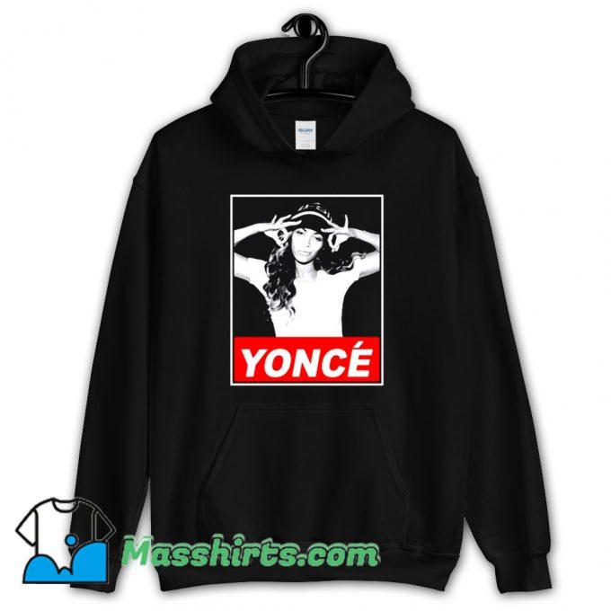 Cheap Beyonce Yonce Obey Hoodie Streetwear