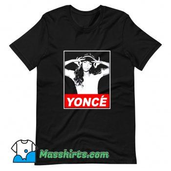 Cool Beyonce Yonce Obey T Shirt Design