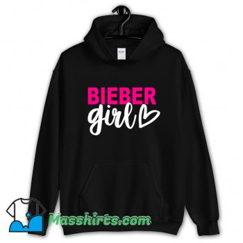 Bieber Girl Singer Music Hoodie Streetwear On Sale