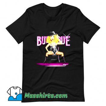 Funny Burlesque Christina Aguilera T Shirt Design