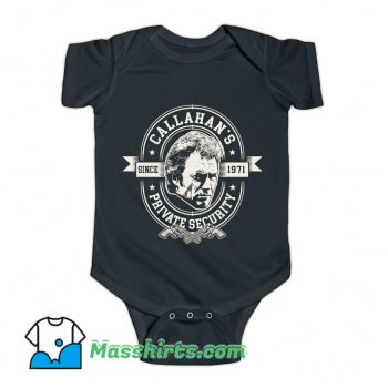 Callahan's Private Security Baby Onesie