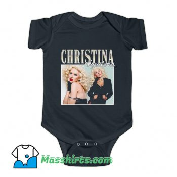 Christina Aguilera Famous Style Baby Onesie