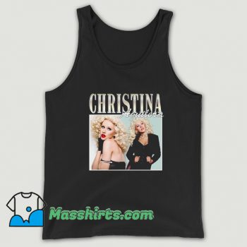 Awesome Christina Aguilera Famous Style Tank Top