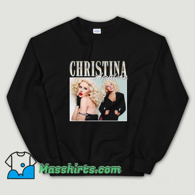 Christina Aguilera Famous Style Sweatshirt On Sale