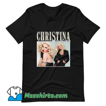 Christina Aguilera Famous Style T Shirt Design