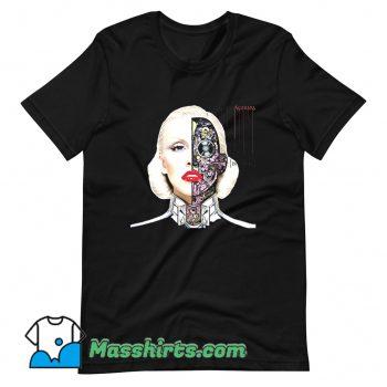 Original Christina Aguilera High Bionic T Shirt Design