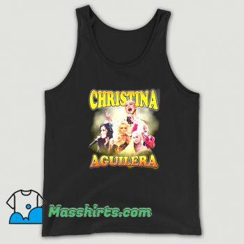 Christina Aguilera Performance Music Tank Top