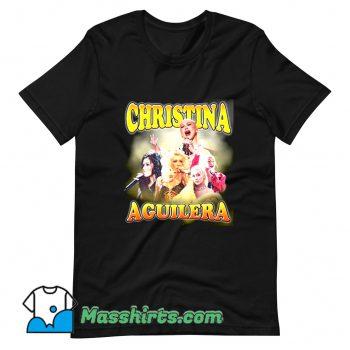 Christina Aguilera Performance Music T Shirt Design