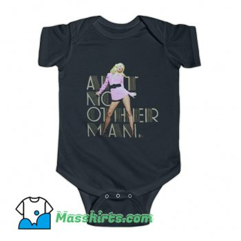 Christina Aguilera Pink Dress Baby Onesie
