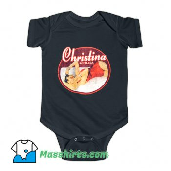 Christina Aguilera Pop Dance Baby Onesie